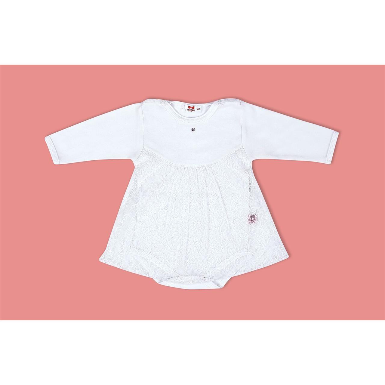 26aeb92daf Marija - biała sukienka z body Lilly