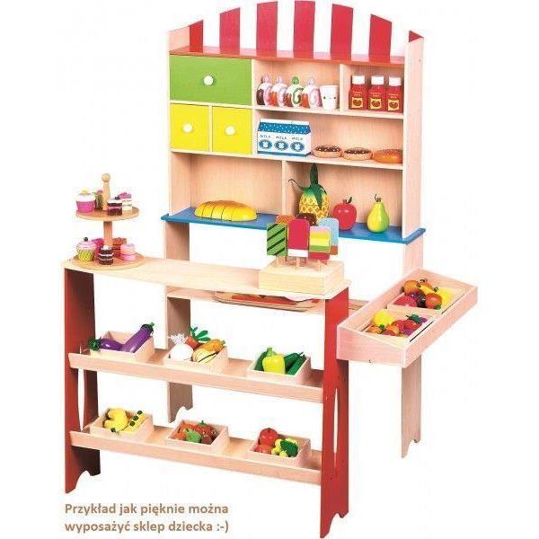 172740ec11b012 ... Sklep - supermarket, zabawka drewniana - Lelin-208906